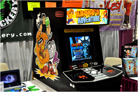 Abobo's Big Adventure at I-Mockery Productions booth #E10!